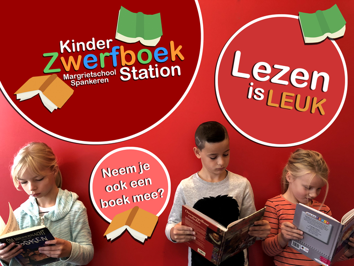 Kinderzwerfboek-station